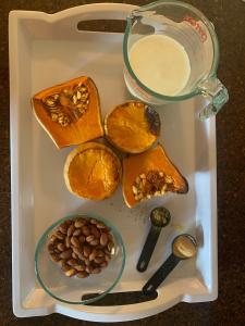 Butternut Squash Soup almonds