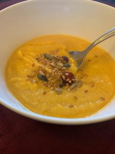 Butternut Squash Soup bowl